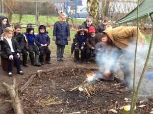 Making Fires and using Senses 06.02.14