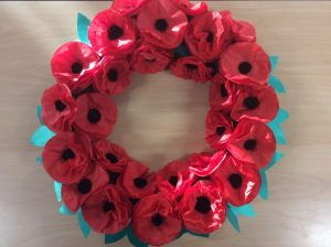 Let's remember by making poppies | Clover Hill V A  Infant